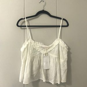 Zara trafaluc collection crop top